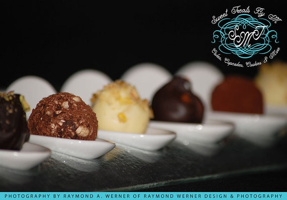 1 Dozen WInter Flavors Chocolate Truffles
