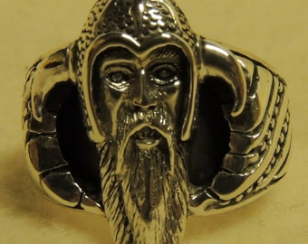 Viking Sterling Silver Ring