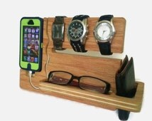 Watch and eye dock - iphone 4, 4s, 5, 5s, 5c Valet