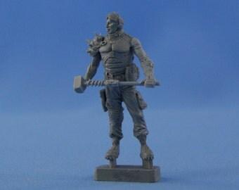 Fallout raider 54mm resin figure