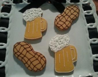 Beer and Peanut Cookies
