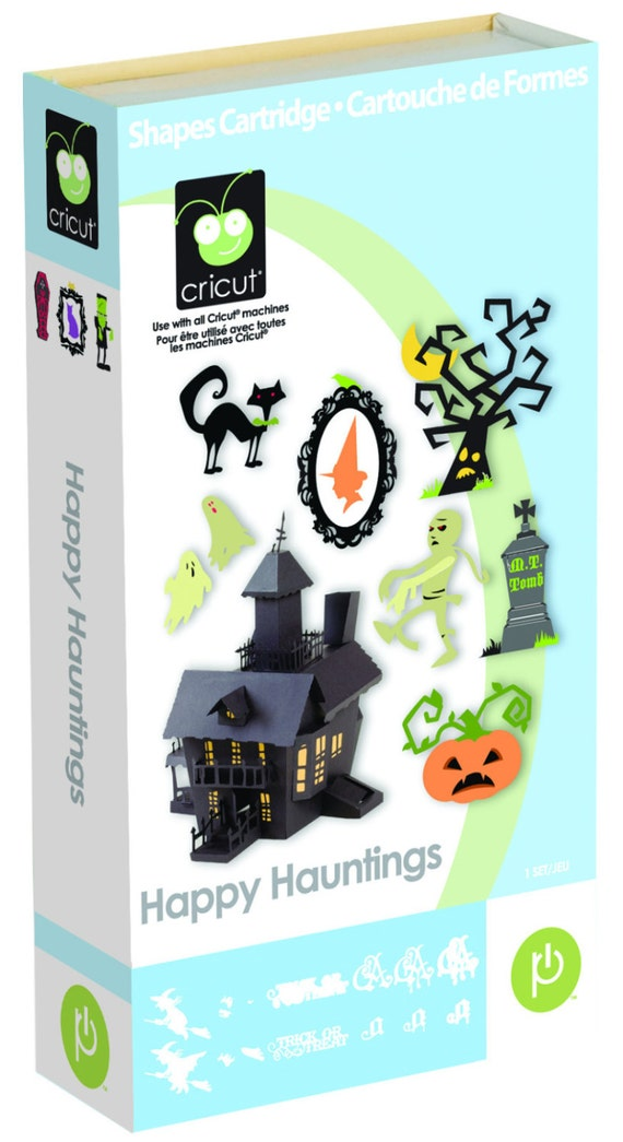 Cricut Cartridge Halloween Happy Hauntings New Unused