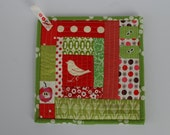 Reserved for Jo - Quilted pot holder