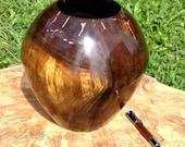 Black Walnut with Copper Inlay