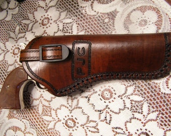 Leather  Holster for Medium to Large Frame Revolvers