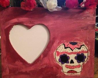 Dia de Los Muertos picture frame