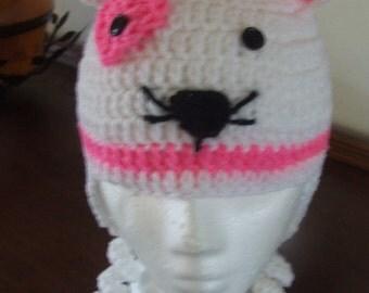 Valentine Kitty Hat