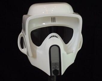 Star Wars Biker Scout Helmet Full Size 1:1 Armour Movie Prop