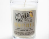 Honeysuckle- 8 oz. Natural Soy Candle - OpalAndWonder