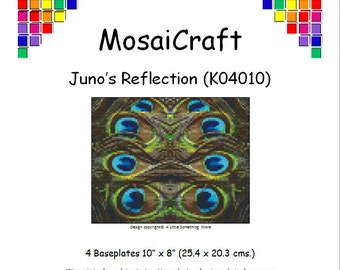 "MosaiCraft Pixel Craft Mosaic Art Kit ""Juno's Reflection"" (Like Mini Mosaic and Paint by Numbers)"