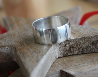 Manly Man's ring - sterling silver
