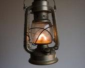 Vintage Gas Lantern, German Gas Lamp, Nightlight, Bat N 158, Made in GDR, Black, Dark, Fire, Camp, Light, Storm, Dude, Man, Dad, ohtteam