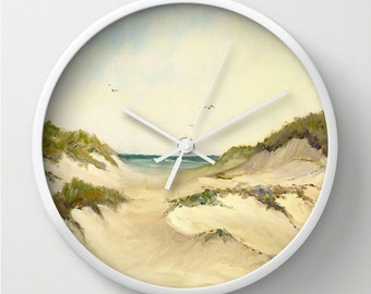 Wingaersheek Beach Wall Clock