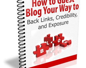 Guest Blogging Step By Step-Strategies-Action Plan-Checklist-Information Report