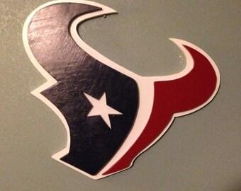 Texans 3D Wooden Logo