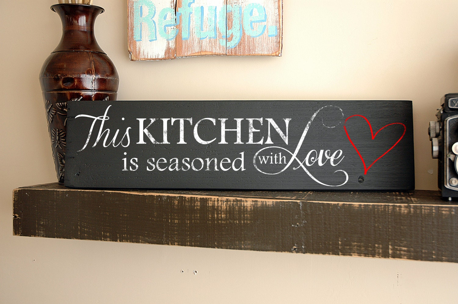 Wall Art Signs Kitchen : Christian wall plaques with quotes quotesgram