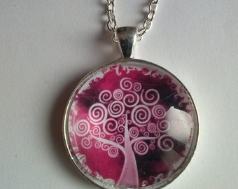 tree of life picture pendant cammeo charms