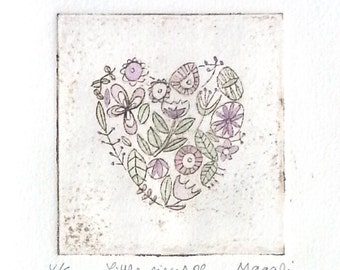 Dry Point - Little Pieces of our Heart