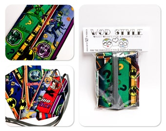 WOD Style Wrist Wraps Batman City