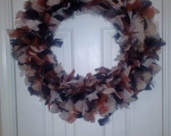 Turkey Feather Wreath