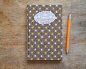 SALE Vintage Floral Fabric Bound Unique Storybook Journal