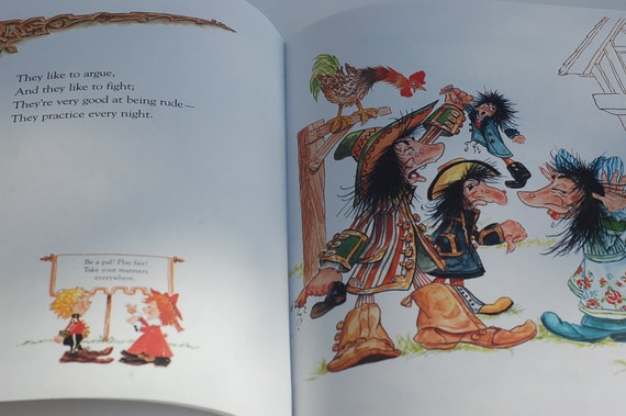 The Thingumajig Book of Manners, by Irene Keller, Illustrations by Dick Keller