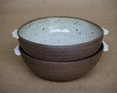 Ceramic bowl, hand thrown pottery, minimalist ceramics, serving dish bowl, porcelain, medium size bowl.