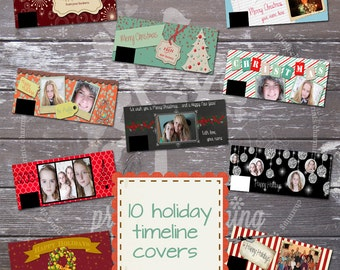 Holiday Timeline Covers for Facebook