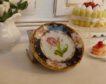 Coalport Bavaria Tulip Dollhouse Plate
