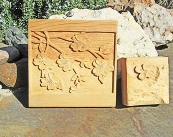 Vintage Wood Folk Art, Vintage Wood Carving, Hand Carved Flowers, hastypearl, Vintage Folk Art, Handcarving, Wood Sculpture, Carved Flowers
