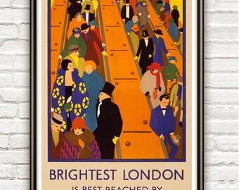 Vintage Poster London Underground , 1924