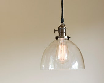 glass pendant lighting fixtures. pendant light fixture clear handblown glass 8 lighting fixtures t