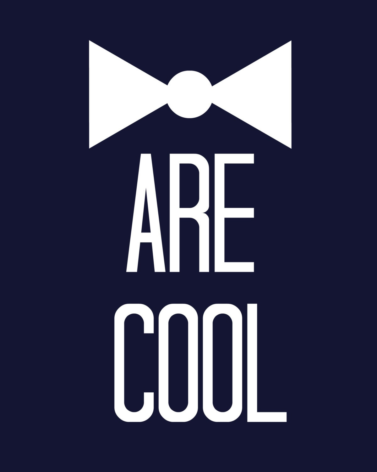 Bow Ties Are Cool Doctor Who 8 x 10 Digital Art Print Download