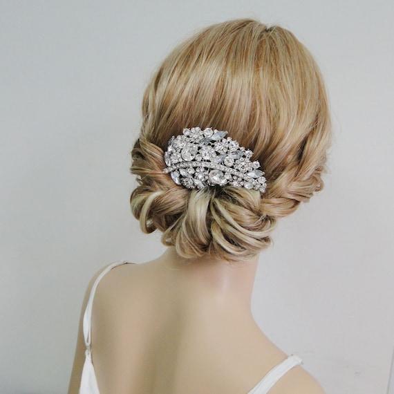 Victorian Style Wedding Hair: Victorian Style Flower Leaf Bridal Hair Comb By Voguejewelry4u