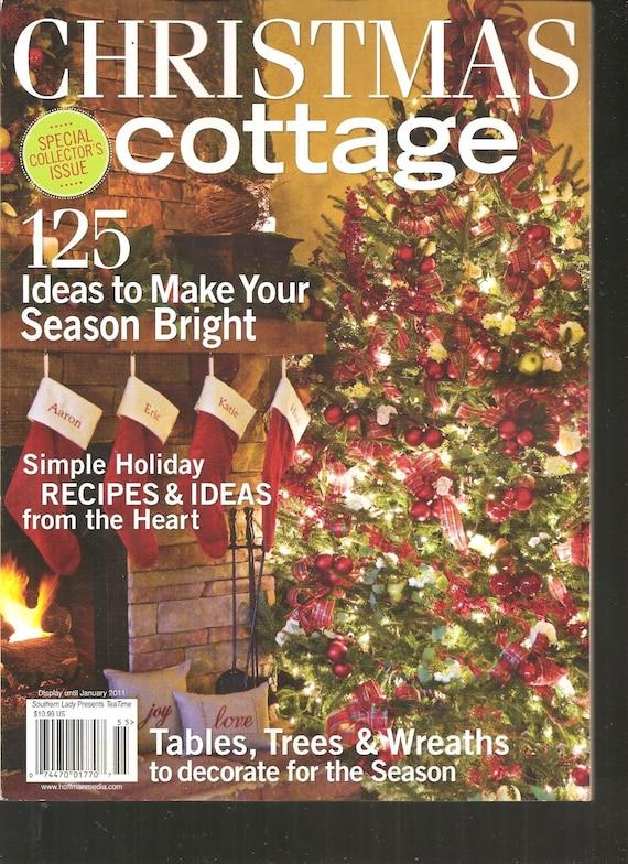 Christmas cottage magazine 2010 for Spring cottage magazine
