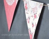 Paper Banner with Doily Trim