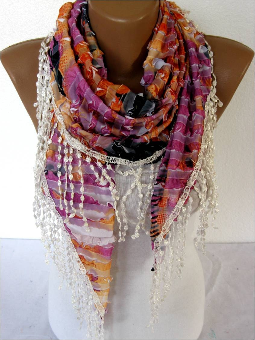 scarf fashion scarves gift ideas for by mebadesign