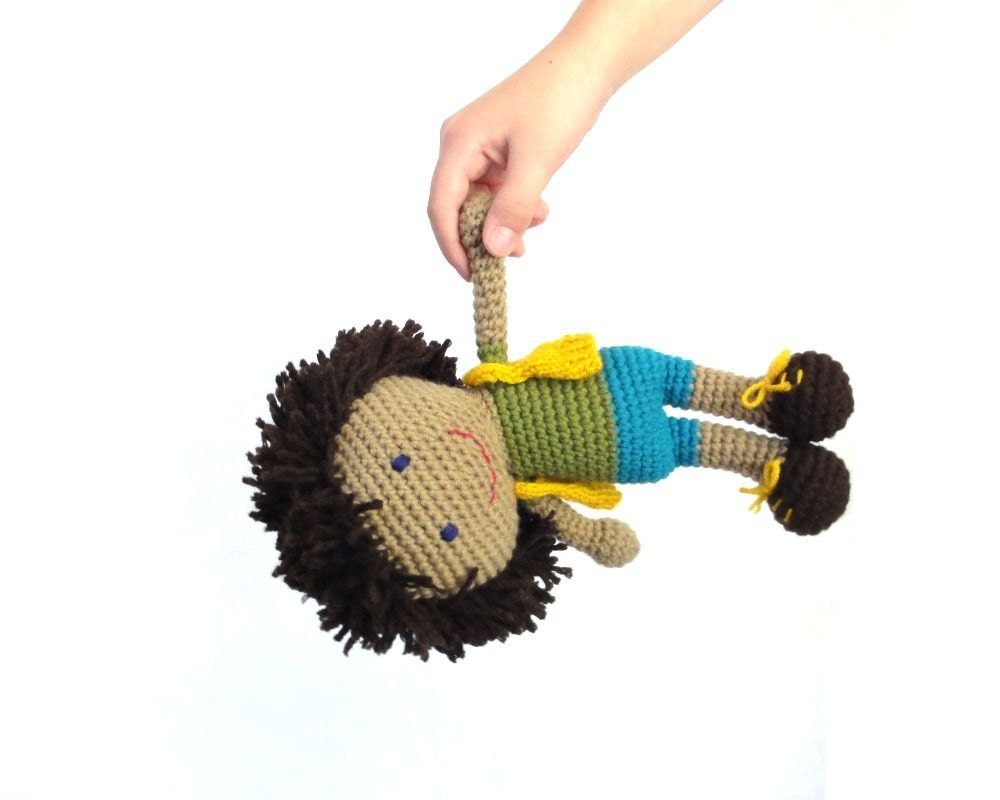 Amigurumi crochet doll boy: Joe by ittooktwo on Etsy