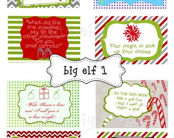 SALE Big Elf notes for your Shelf Friend! Notes for your Elf