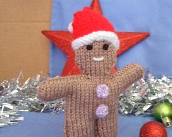 Gingerbread Man Christmas Toy