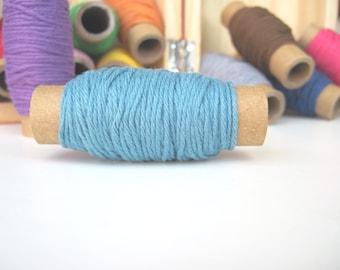Solid Light blue Bakers Twine - 10 yards on each spool - Light Blue twine