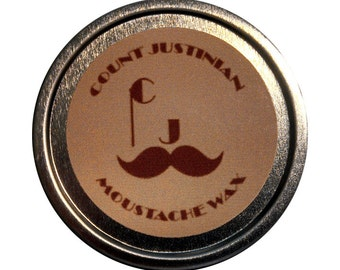 Count Justinian Moustache Wax - Empire Collection (Sandalwood)