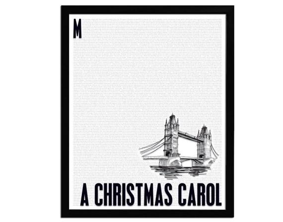 Christmas Carol Printable: Items Similar To A Christmas Carol By Charles Dickens