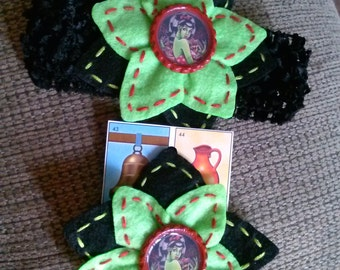 pin up zombie bow