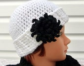 Chic Adult Parisian Dahlia Hat / Spring Fashion /  Women - READY TO SHIP