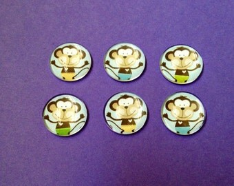 Monkey Bubble Magnets