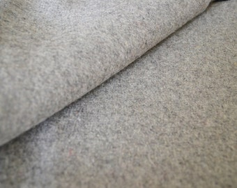 Light grey felt fabric by the yard- Wool felt by the yard- Wholesale felt by the yard- Wholesale fabrics by the yard