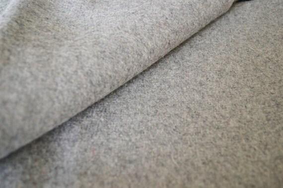 Light Grey Felt Fabric By The Yard Wool Felt By The Yard