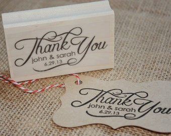 Custom Rubber Stamp - Thank You
