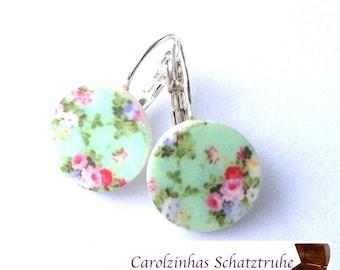 beleza - earrings mint
